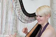 lizzie-harpist-Fantasia Music