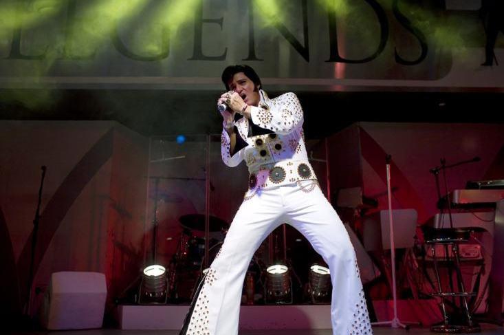 Clayton Mark Elvis Tribute - Fantasia Music